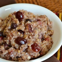 Steel Cut Oatmeal and Berries