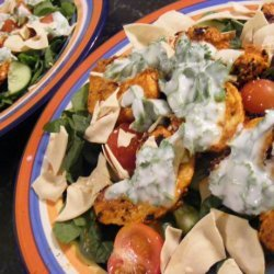 Warm Tandoori Chicken Salad (21 Day Wonder Diet: Day 4) recipe