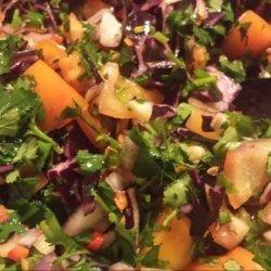 Easy Rainbow Pasta Salad