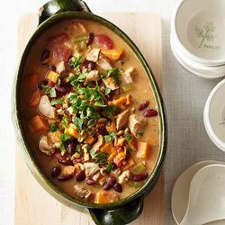 Sweet Potato Stew With Red Beans