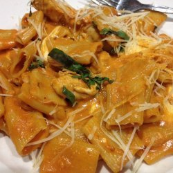 Spicy Chicken in a Creamy Tomato Sauce