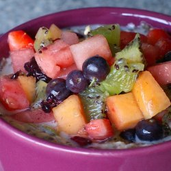 Overnight Fruit Salad recipe