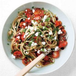 Linguine Tapenade