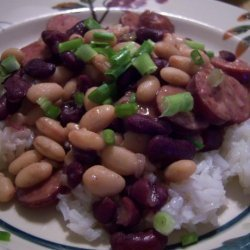 Red Beans With Bell Pepper