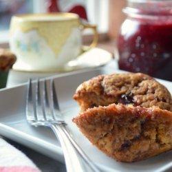 Jam & Coconut Filled Muffins