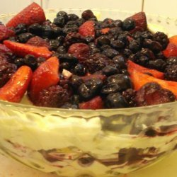 Christmas Berry Trifle recipe