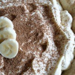 White Chocolate-Banana Cream Pie