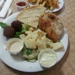 Mediterranean Potato Salad With Chicken