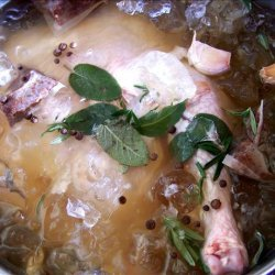 Apple Spiced Tea Brine recipe