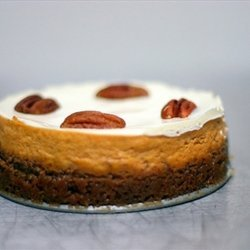 Pumpkin Bourbon Cheesecake