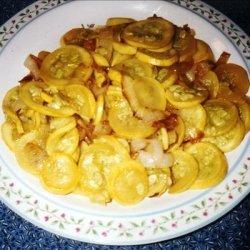 Sautéed Yellow Squash With Onions