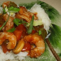 Sweet and Sour Prawns/Shrimp