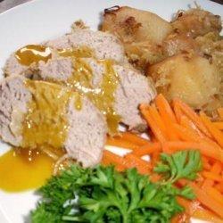 Crock Pot Pork With Sauerkraut, Apple & Potato recipe