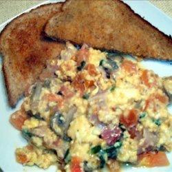 Scrambled Omelette