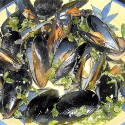 Steamed Mussels With Wine and Cream