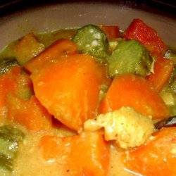 Chicken and Sweet-Potato Curry