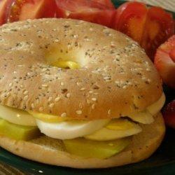 Easy Deviled Egg Sandwiches