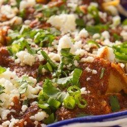 Layered Turkey Enchiladas