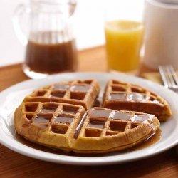 Pumpkin-Sour Cream Waffles