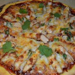 Cajun BBQ Chicken Pizza