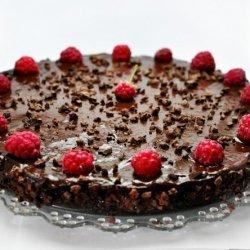 Raw Vegan Chocolate and Raspberry Birthday Cake
