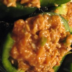 Spicy Stuffed Bell Peppers