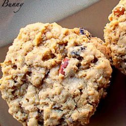 Chewy Oatmeal, Raisin, Pecan Cookies