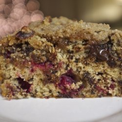 Cranberry Crumble Cake