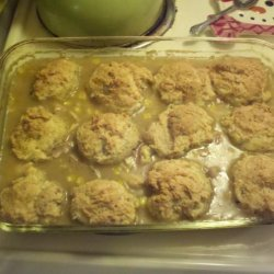 Oven Chicken and Dumpling Casserole