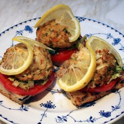 Crab Cakes Sandwiches