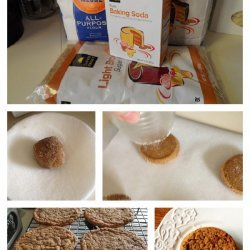 Sugar-Topped Molasses Spice Cookies