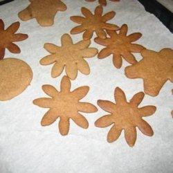 Pepparkakor (Gingerbread Cookies) - Vete- Katten Bakery, Sweden