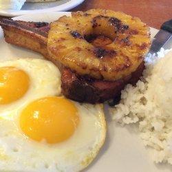 Pineapple Pork Chops and Rice