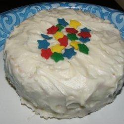 Lemon Layer Cake for Two