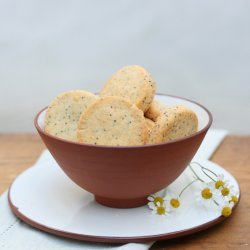 Poppy Seed & Parmesan Shortbread