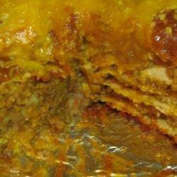 Beef 'n Bean Burrito Stack (Crock Pot, Slow Cooker)