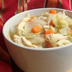 Thai Chicken Cabbage Soup