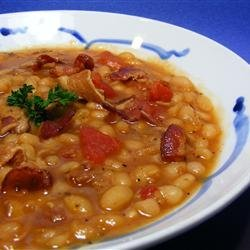 Bean with Bacon recipe