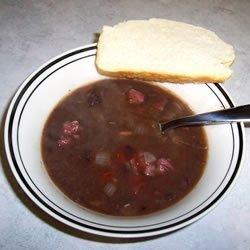 Black Bean Soup I