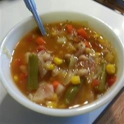 Homemade Vegetable Soup recipe