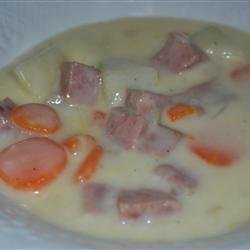 Chunky Cheese Soup