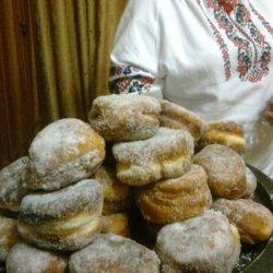 Ukrainian Pampushky Christmas Doughnuts