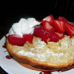 Finnish Oven Pancake (Pannukakku)
