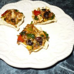 Southwest Chicken Hors D'oeuvres