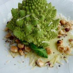 The Wedding Bouquet Vegetable Platter or Romanesco Romano! recipe