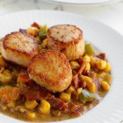 Creamy Corn Scallop