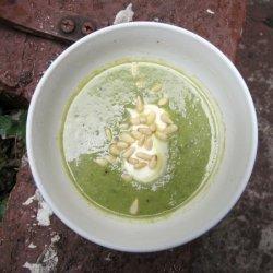 Three Onion-Asparagus Soup