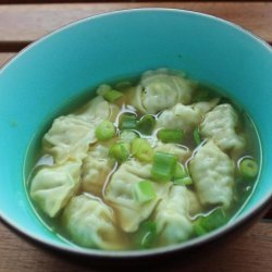 Shortcut Asian Dumpling Soup recipe