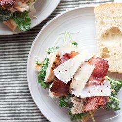 Grilled Chicken Caesar Salad Sandwiches