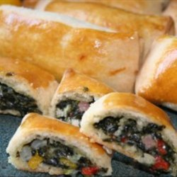 Spinach Rockefeller Roulades recipe
